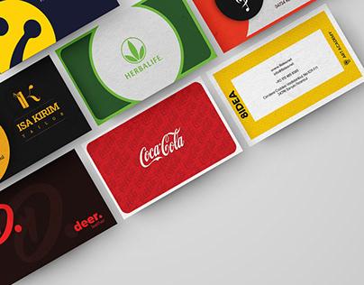 Business Card Collection by Batu Tekin