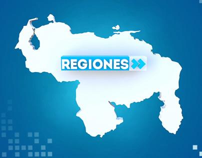 Regiones - Empaque gráfico
