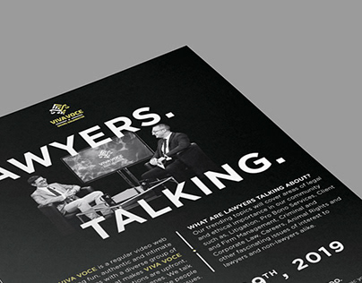 Promotional Flyer for TV Program