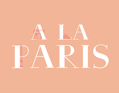 A La Paris | Typeface Design
