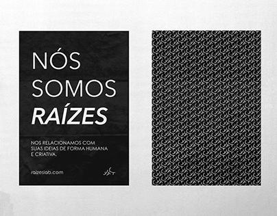 Raízes Creative Lab | Identidade Visual