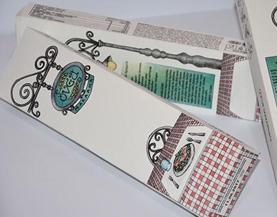 """""""ÖVGÜ"""" Pasta Packaging Design"""