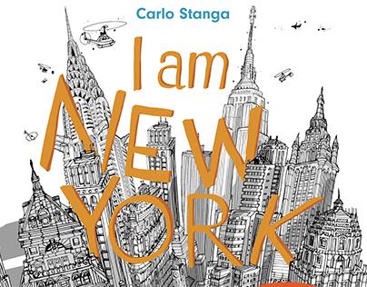 I am New York cover sketch