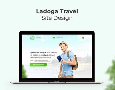 Ladoga Travel site design
