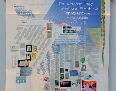 Typography Research Poster