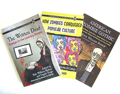 Zombie Book Cover Series