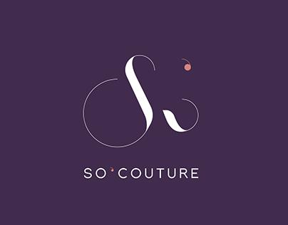 So'Couture - Identité visuelle