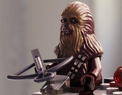 Lego Millennium Falcon Microfighter - CGI