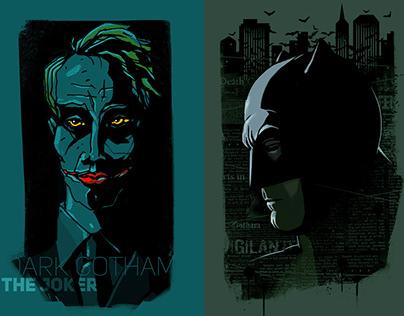 Dark Gotham fanart