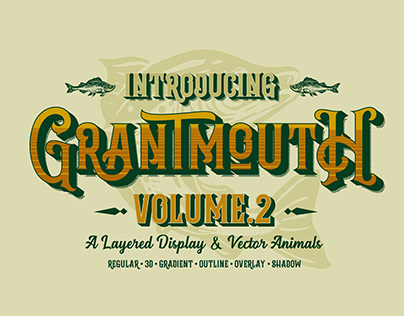 Grantmouth Typeface Vol.2