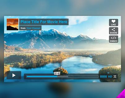 Vimeo Player Mockup