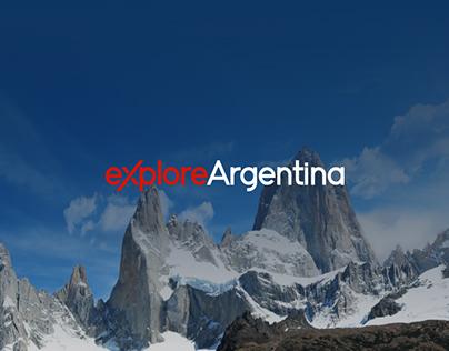 Explore Argentina - Travel Agency Website