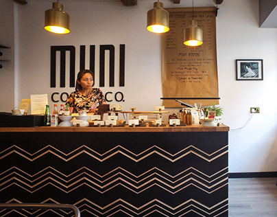 Muni Coffee Branding
