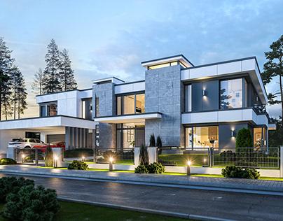 Projekt domu Rezydencja Floryda 2