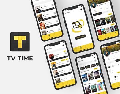 TV TIME - APP REDESIGN