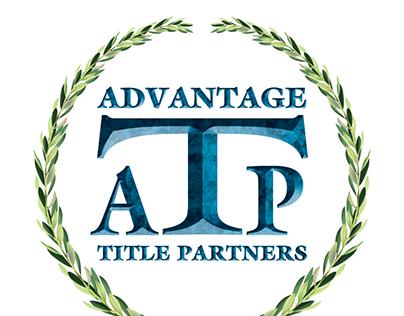 Logo & marketing materials for Advantage Title Partners