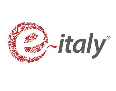 e-Italy LOGO DESIGN
