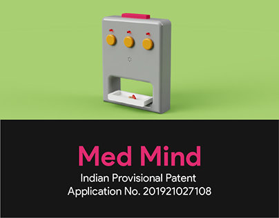 Med Mind - Automatic pill dispenser for Dementia