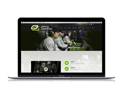 Optic Gaming Website