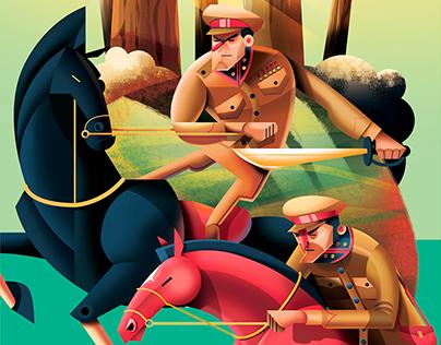 War-horse illustrations