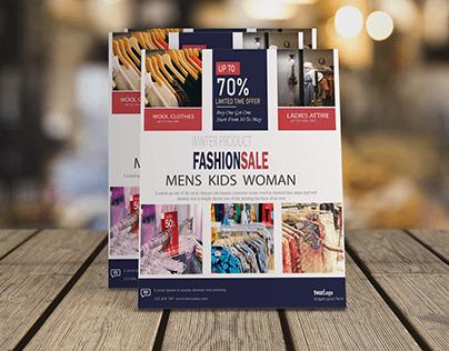 Fashionsale Flyer Design