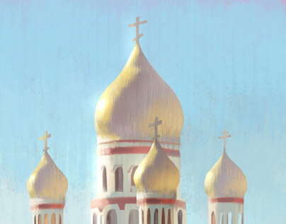 Russian Church From My Window