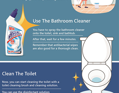 How to Clean your Bathroom in 15 Minutes? (Infographic)