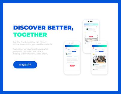 User interface design for web/mobile app and branding