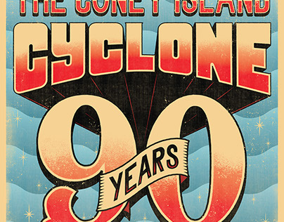 CONEY ISLAND CYCLONE 90 YEARS
