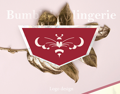 Logo design for lingerie shop Bumblebee