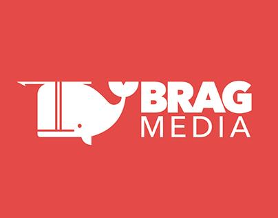 Brag Media Logo & Site