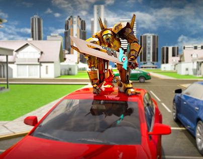 Transformer Game Screen Shot