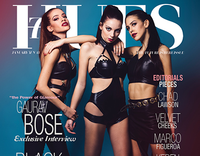 Black Angels for 7Hues Mag