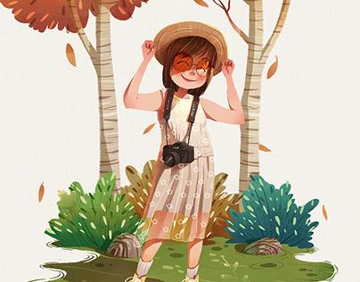 [Illustration] Fun Girl