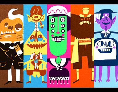 Monsters in Suits Week 2