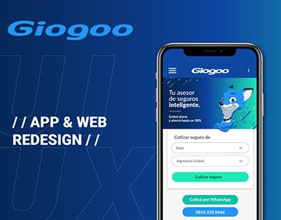 UX/UI DESIGN - GIOGOO: Tu seguro inteligente