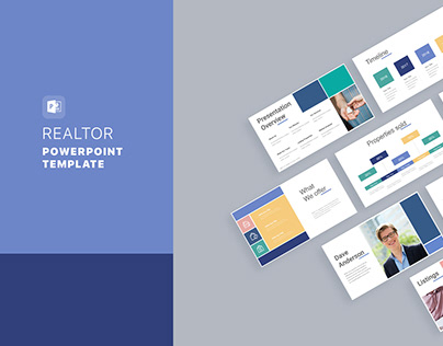 Realtor Real Estate PowerPoint Template