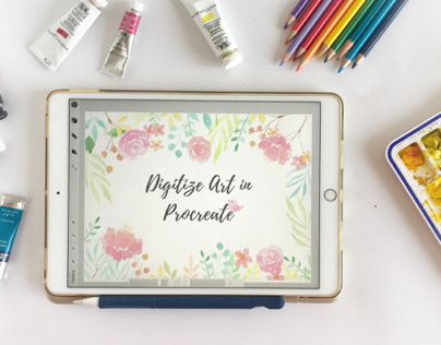 Digitize Art in Procreate - Skillshare Class