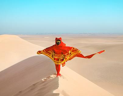 Journey in the eygpt desert