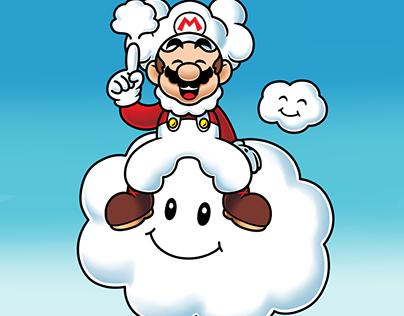 Cloud Mario Fanart