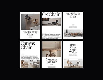 Furniture Design Exploration