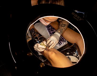 Fotos para sessão de tattoo - Projeto One Life