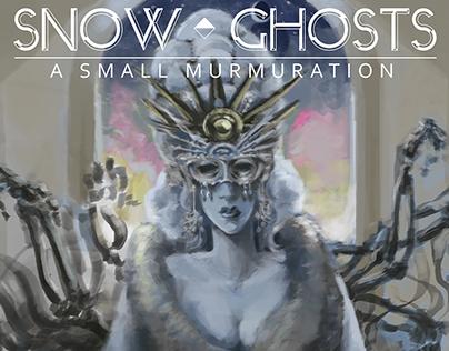 .: Snow Ghosts / Album Design
