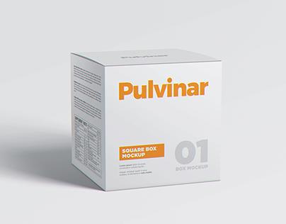Box / Packaging MockUp - Square
