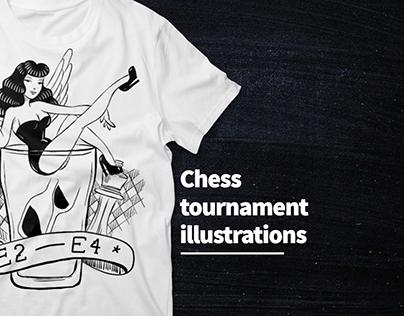 Chess illustrations