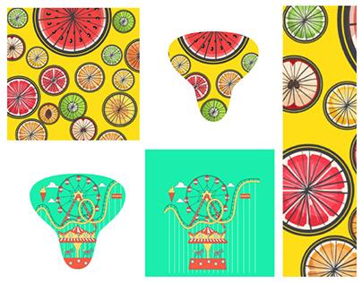 Bike saddle cover design