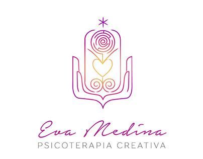 """Logotipo """"Eva Medina - Psicoterapia creativa"""""""