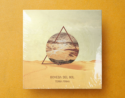 Boveda del Sol - logo/album/web design