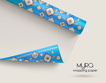 Myra - Wrapping Paper