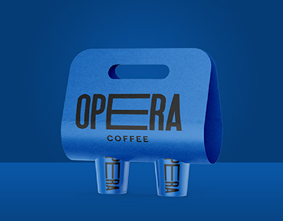 OPERA Coffee / Brand design & packaging